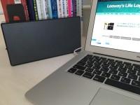 MacBookと相性抜群!BluetoothスピーカーのオススメはSONY「SRS-X55」で決まり!