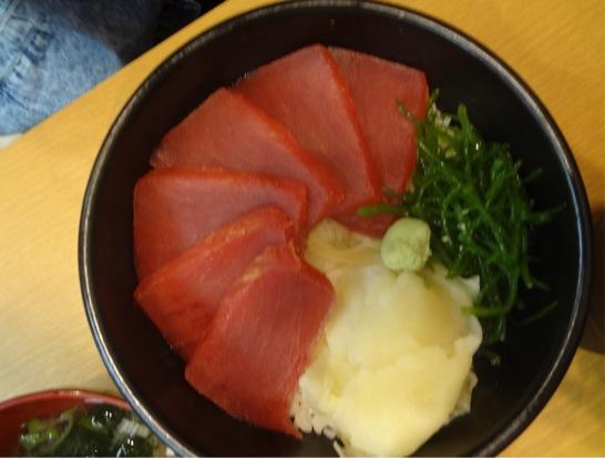 ポセイ丼マグロ丼